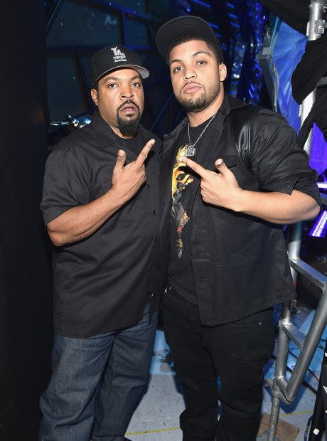 Ice Cube and actor O'Shea Jackson Jr. MTV VMA's 20