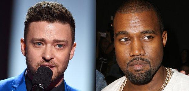 Justin Timberlake and Kanye West