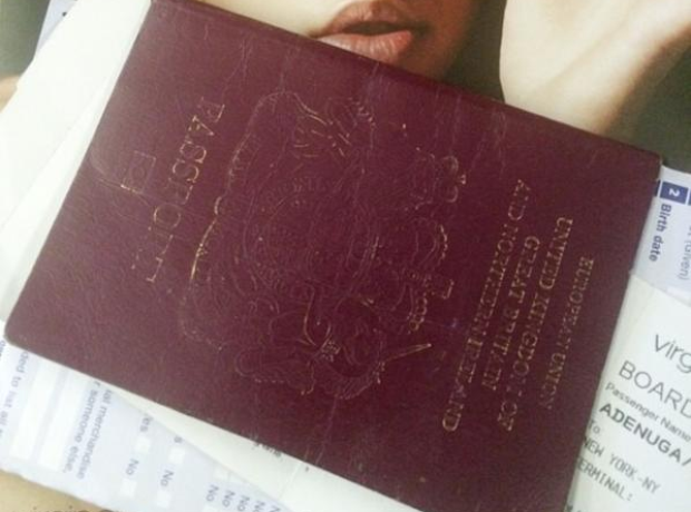 Skepta British Passport