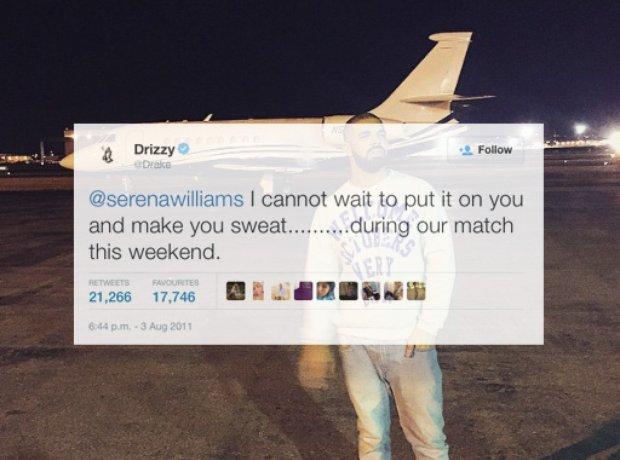 Drake Serena Williams Tweet