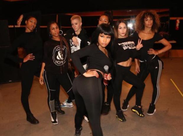 Nicki Minaj Rehearsal