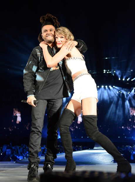 Taylor Swift and The Weeknd