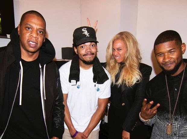 Jay Z Chance The Rapper Beyonce Usher