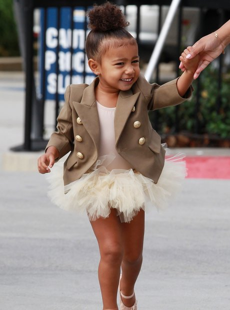 North West in Tutu