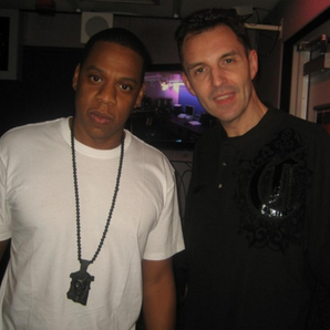 Jay Z and Tim Westwood