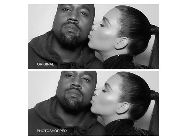 Kim Kardashian photoshop