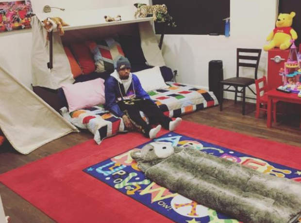 Chris Brown Royalty Bed