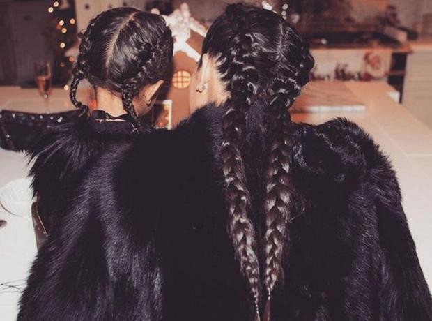 Kim Kardashian Christmas 2015