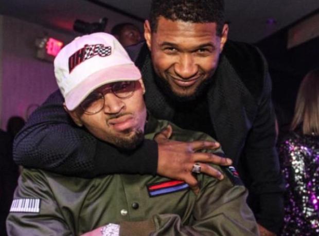 Chris Brown Usher