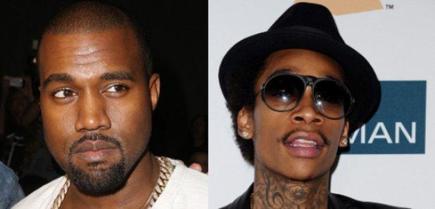 Kanye West Wiz Khalifa