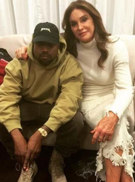 Kanye West Caitlyn Jenner