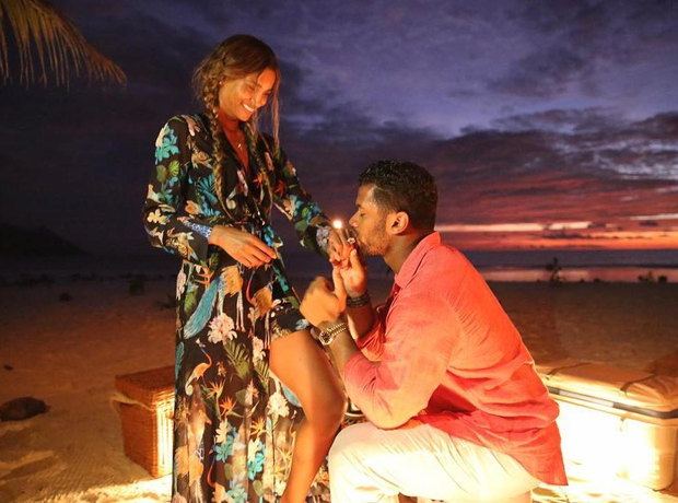 Ciara and Russell Wilson engagement