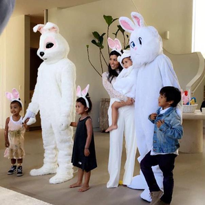 Kardashians Easter Bunny