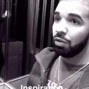 Drake on inside his house on snapchat