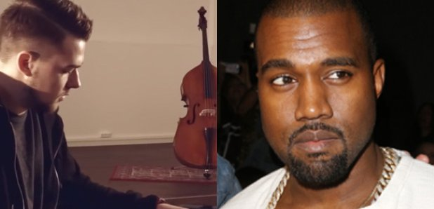 Kanye West and Young Piano