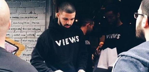 Drake signing bags