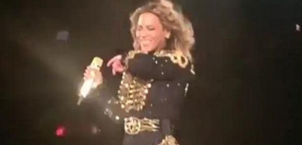 Beyonce Sneeze