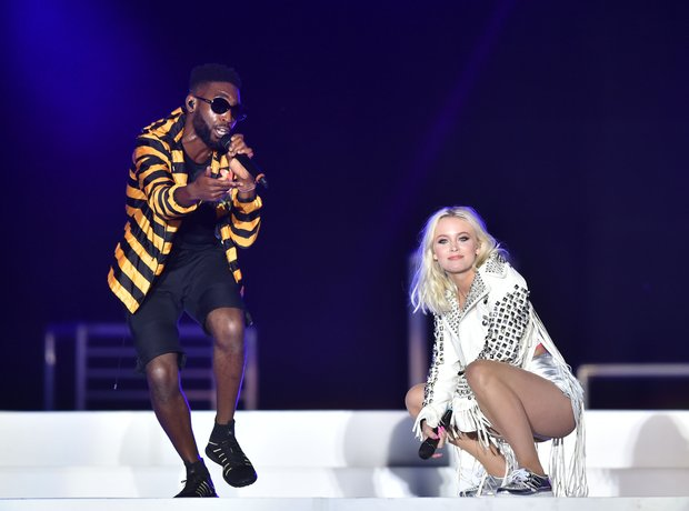 Zara Larsson and Tinie Tempah Live Summertime Ball