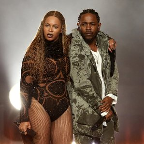 Beyonce and Kendrick Lamar