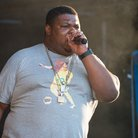 Big Narstie performs at Wireless Festiva