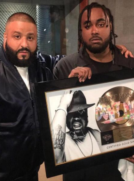 DJ Khaled and Kent Jones