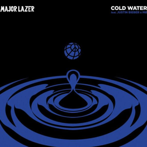 Major Lazer Justin Bieber cold water cover art