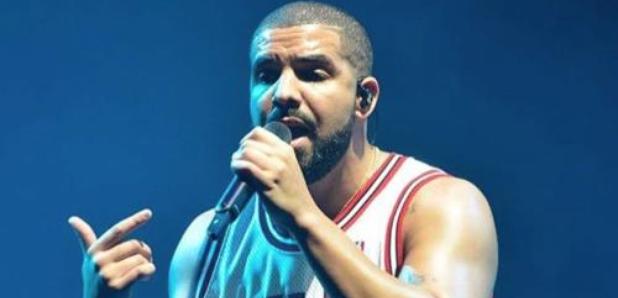 Drake wearing Chicago Bulls Jersey