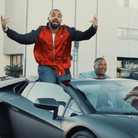 Drake and YG in car