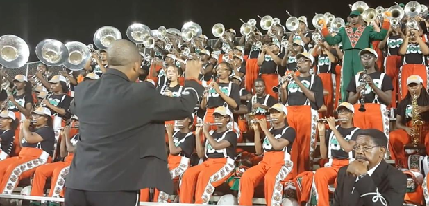 Kanye West Father Stretch My Hands Marching Band