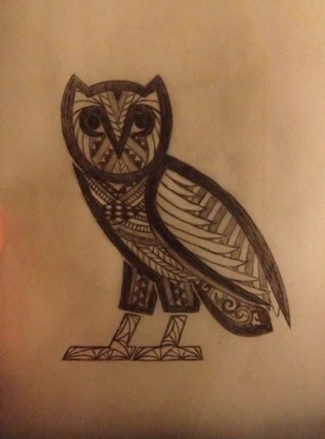 Drake OVO Owl Tattoo