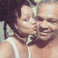 6. Rihanna posted this adorable picture of her alongside her father, Ronald Fenty.
