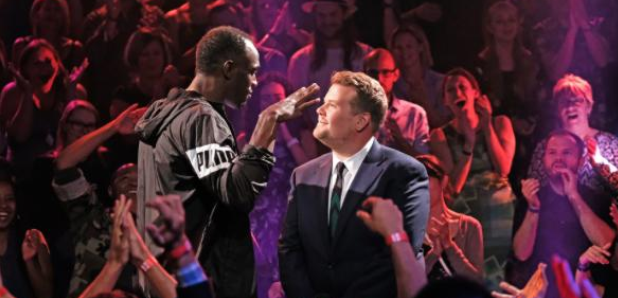 James Corden Usain Bolt Rap Battle