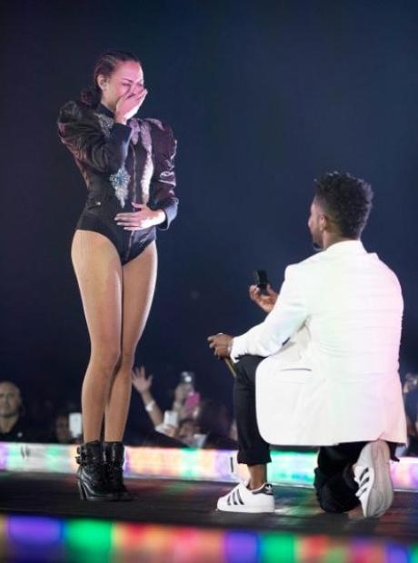 Beyonce Marriage Proposal