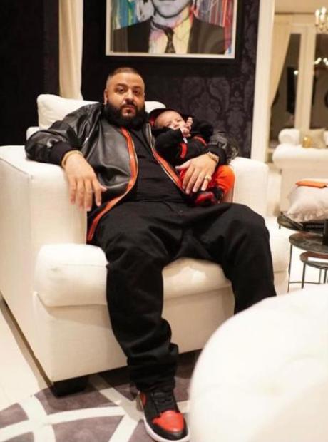 DJ Khaled and son Instagram
