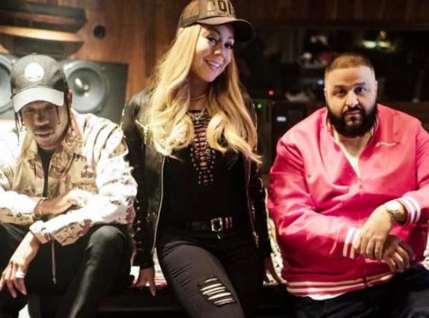DJ Khaled Mariah Carey Travis Scott