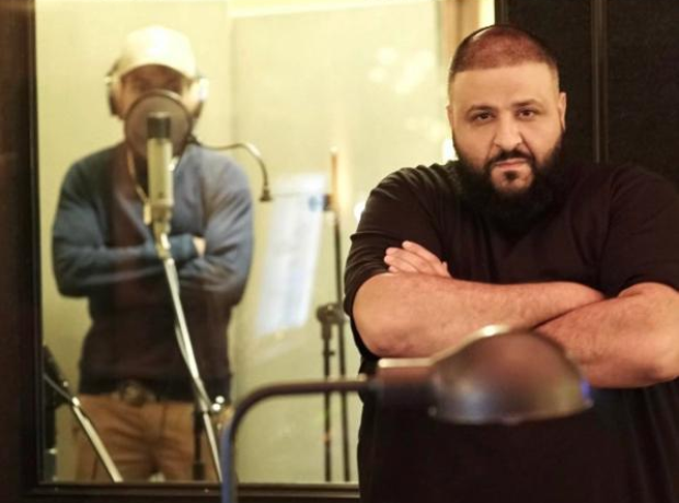 DJ Khaled was in the studio with Chance The Rapper