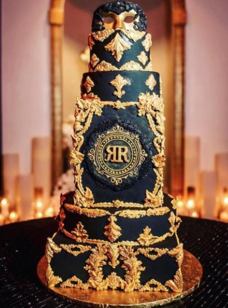 Rock Ross birthday cake