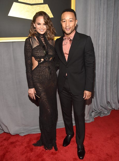 Chrissy Teigen and John Legend Grammy Awards 2017