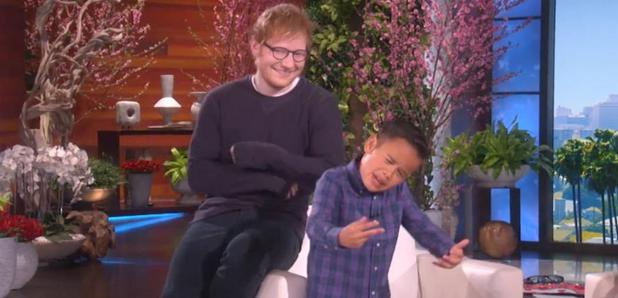Ed Sheeran Kai Langer Ellen
