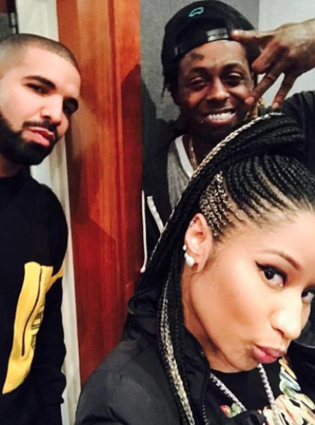 Nicki Minaj, Drake and Lil Wayne