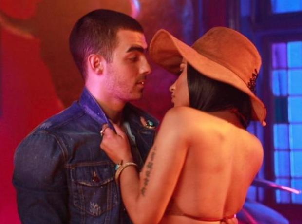 Joe Jonas and Nicki Minaj