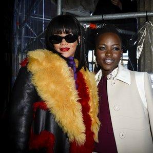 Rihanna Lupita Nyongo'o