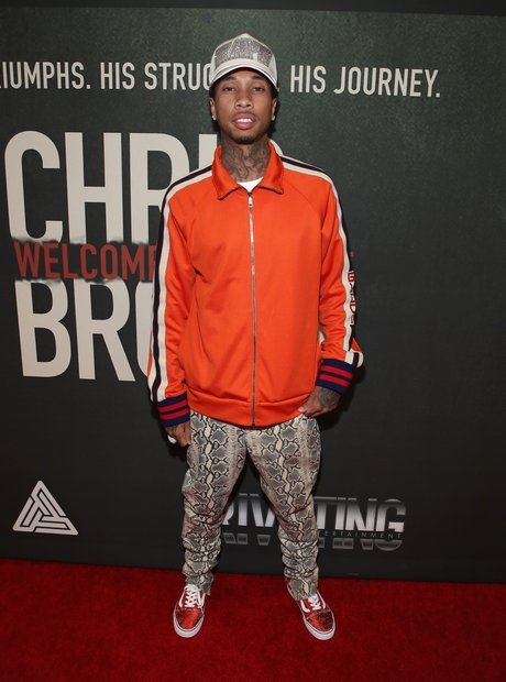 Tyga Chris Brown Welcome To My Life Premiere