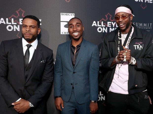 Benny Boom, Demetrius Shipp Jr and 2 Chainz