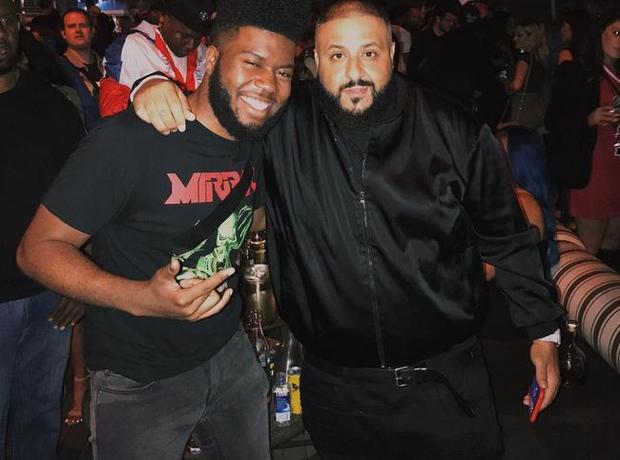 Khalid with DJ Khaled