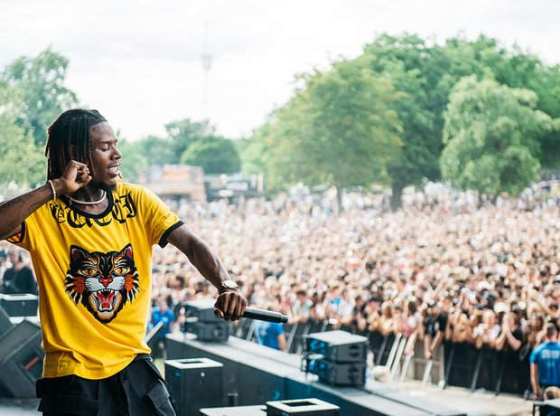 Fetty Wap Wireless Festival 2017