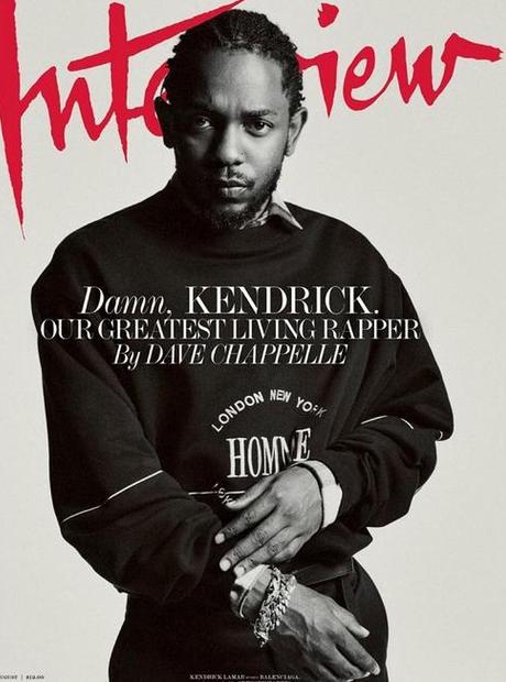 Kendrick Lamar Interview magazine cover