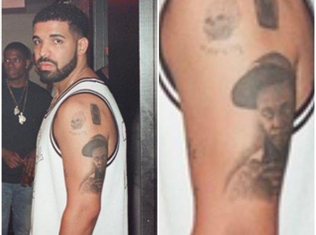 Drake Lil Wayne tattoo