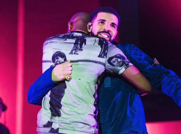 Giggs and Drake at BBK Takeover